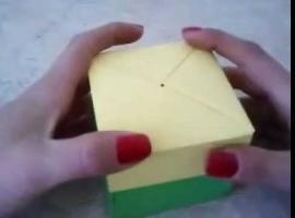 Jak wykonać czworokątne pudełko z wieczkiem