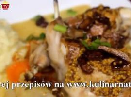 Jak zrobić królika z musztardą, boczkiem i winem