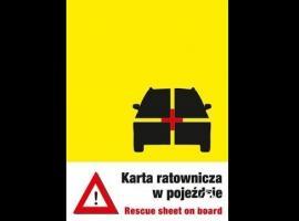 Jak zwiększyć szanse przeżycia w wypadku - Karta ratownicza auta
