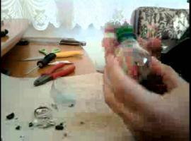 Jak zrobić fajkę wodną z żarówki i nakrętki