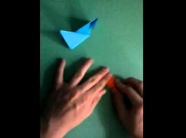 Jak zrobić gwiazdę origami w dwóch kolorach