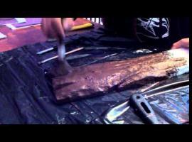 Jak zrobić imitację drewna ze styropianu