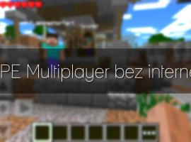 Jak grać w Minecraft PE multiplayer bez internetu