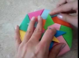 Jak wykonać ośmiokątne pudełko metodą origami modułowego