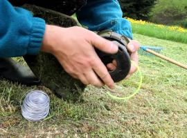Jak wykorzystać do końca żyłkę do podkaszarki