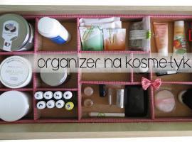 Jak zrobić organizer na kosmetyki
