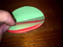 Jak zrobić bombkę z papieru