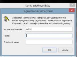 Jak wyłączyć hasło w Windows 8