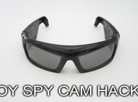 Jak zostać szpiegiem - modyfikacja okularów przeciwsłonecznych