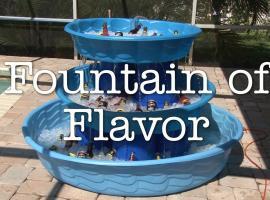 Jak zrobić fontannę która chłodzi piwo