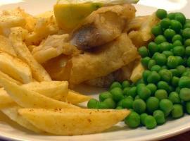 Jak zrobić fish and chips z zielonym groszkiem