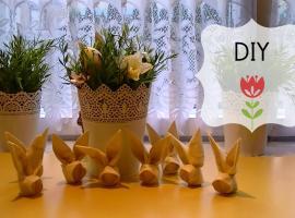 Jak zrobić zajączka z serwetki