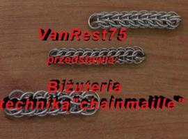 Jak zrobić biżuterię chainmaille #9 - wzór pełny perski 4w1