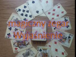 Jak wykonać magiczny zegar (sztuczka z kartami)