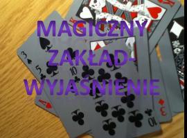 Jak wykonać magiczny zakład z kartami