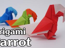 Jak zrobić papugę z papieru