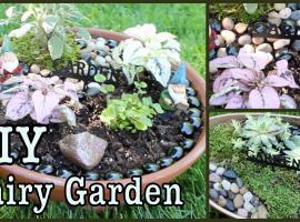 Jak stworzyć baśniowy ogródek z donicy ogrodowej