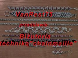 Jak zrobić biżuterię chainmaille #10 - wzór bizantyjski