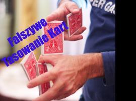 """Jak wykonać trik """"Fałszywe tasowanie kart"""""""