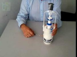 Jak zamontować zawór spłuczki do kompaktowego WC