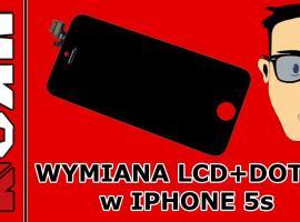Jak wymienić LCD i ekran dotykowy w iPhone 5S