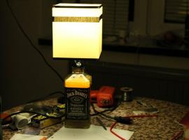 Jak zrobić lampkę Jack Daniel's