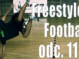 Jak opanować triki freestyle football - wyskok z podbiciem