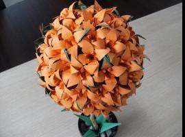 Jak zrobić liliowca - niesamowite drzewko origami