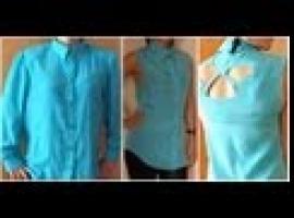 Jak przerobić damską koszulę