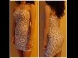 Jak uszyć prostą sukienkę bez ramiączek na lato