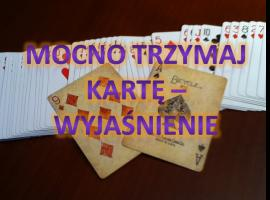 Jak wykonać sztuczkę z trzymaniem karty