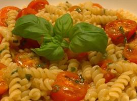 Jak zrobić makaron z pomidorkami cherry
