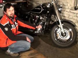 Jak zadbać o motocykl w zimie - chłodnica