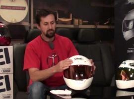 Jak dbać o kask motocyklowy - skorupa i szyba