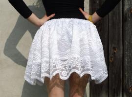 Jak uszyć spódniczkę firankową