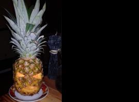 Jak zrobić lampion na Halloween z ananasa
