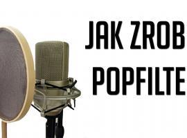 Jak zrobić pop filter do profesjonalnego nagrywania dźwięku