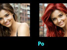 Jak przefarbować włosy w Photoshopie - Sposób 1