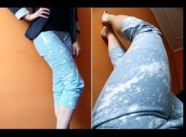 Jak zrobić zakręcone spodnie