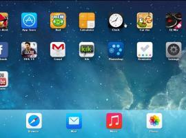 Jak grać w gry IOS (iPhone) na komputerze - iPadian 2014