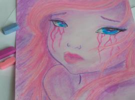 Jak zabezpieczyć rysunek wykonany suchymi pastelami