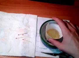 Jak zrobić wodoodporne zapałki