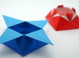Jak zrobić pudełko z papieru - Star Box