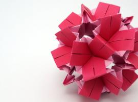 Jak wykonać kulę origami CLO Kusudama