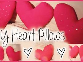 Jak zrobić dekoracyjne poduszki w kształcie serca