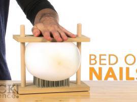 Jak zrobić łóżko z gwoździ