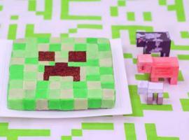 Jak zrobić tort dla dziecka - Creeper z Minecraft