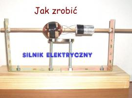 Jak zrobić silnik elektryczny (szczotkowy) z prostych rzeczy