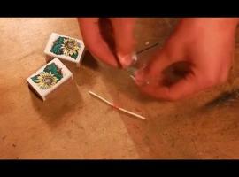 Jak zrobić rakietki z zapałek