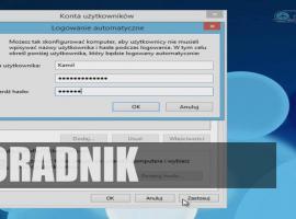 Jak logować się automatycznie w Windows 8.1